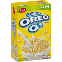 Post Golden Oreo O's Breakfast Cereal, Oreo Cookie, 19 Oz - Walmart.com