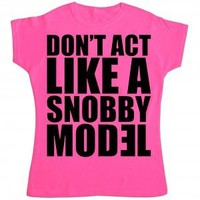 Eminem Girls Snobby Model - T Shirts