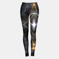 Ancient Stone Cross Of Light Leggings, Live Heroes