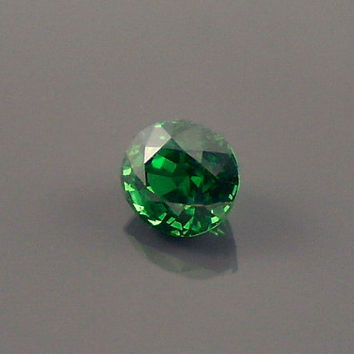 Tsavorite Garnet: 0.80ct Green Oval Shape Gemstone, Natural Hand Made Faceted Gem, Loose Precious Mineral, OOAK Crystal Jewelry Supply 20207
