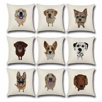 Assorted Breed Pillow Case Collection
