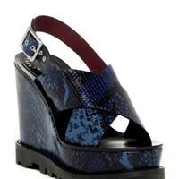 Marc Jacobs | Irving Snake Print Wedge Sandal | Nordstrom Rack