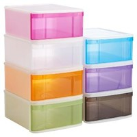Large Tint Stacking Drawer | The Container Store