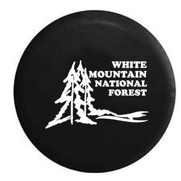White Mountain National Forest State Park Travel RV Camper Jeep Spare Tire Cover