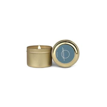 PADDYWAX ELEMENT 2 OZ  BLUE SALTWATER & SUEDE GOLD TIN