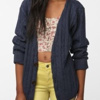 Urban Renewal Oversized Cotton Cardigan
