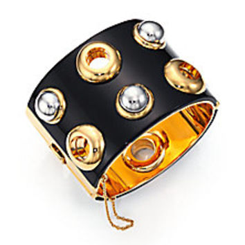 Marc by Marc Jacobs - Grommet Cabochon Cuff Bracelet - Saks Fifth Avenue Mobile