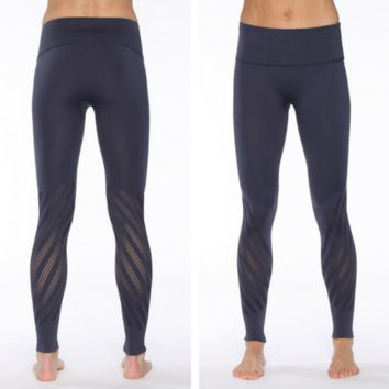 Rese Lily Seamless Legging - Dark Orchid