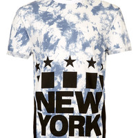 NEW YORK PRINTED T-SHIRT - T-Shirts & Tanks - New In - TOPMAN USA