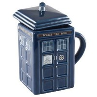 Amazon.com: Doctor Who Figural Tardis Mug: Kitchen & Dining