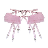 Tutu Garter Belt ( Pink ) from CREEPYYEHA