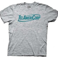 Workaholics TelAmeriCorp Heather Gray Adult T-shirt  - Workaholics - | TV Store Online