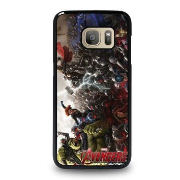 iron man age of ultron 2 samsung galaxy s7 case cover  number 1