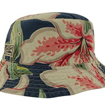 Polo Ralph Lauren Men's Reversible Solid-Floral Bucket Hat-BF-SM