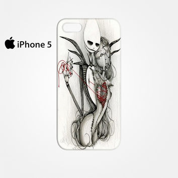 The Nightmare Before Christmas Jack and Sally for Iphone 4/4S Iphone 5/5S/5C Iphone 6/6S/6S Plus/6 Plus 3D Phone case