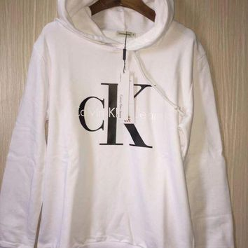 PEAP2Q calvin klein fashion hooded top pullover sweater sweatshirt hoodie