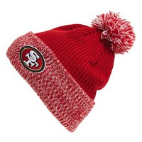 Men's New Era Cap 'Flurry Frost - NFL San Francisco 49ers' Pom Knit Cap