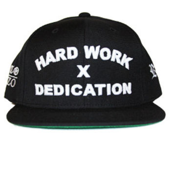 Hard Work X Dedication Snapback (Black)