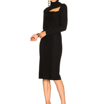 A.L.C. Montero Dress in Black | FWRD