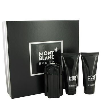 Montblanc Emblem Gift Set By Mont Blanc For Men