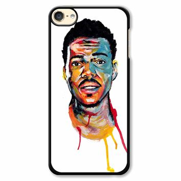 Acrylic Painting Of Chance The Rapper iPod Touch 6 Case