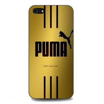 Puma Gold For iphone 5 and 5s case
