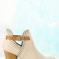 Style My Way Booties-Taupe