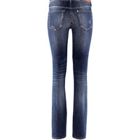 H&M - Bootcut Low Jeans - Dark denim blue - Ladies