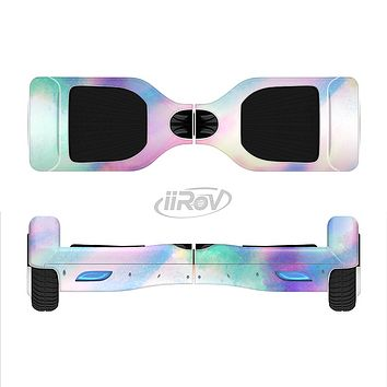 The Tie Dyed Bright Texture Full-Body Skin Set for the Smart Drifting SuperCharged iiRov HoverBoard