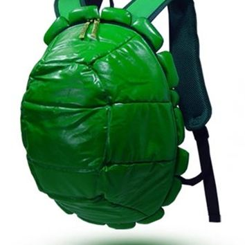 Nickelodeon Teenage Mutant Ninja Turtles - Shell Backpack Green With 4 Masks