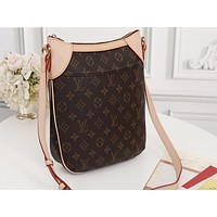 LV Hot-selling Printed Matchwork Lady's Single Shoulder Bag with High Quality