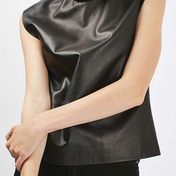 Leather Funnel Top by Boutique - New In This Week - New In