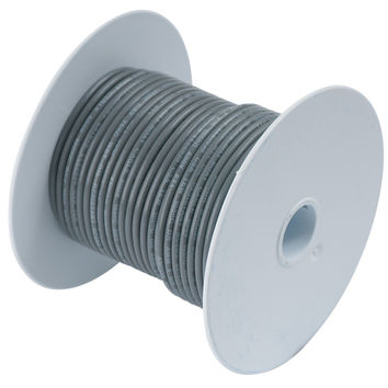 Ancor Grey 14 AWG Tinned Copper Wire - 18'