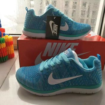 Nike Fashion Casual Unisex Breathable Comfortable Fly Weave Couple Sneakers Running Shoes-1