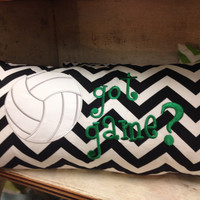 "12""x24"" Volleyball Pillow"