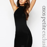 ASOS PETITE Body-Conscious Dress With High Neck