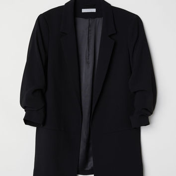 H&M Jacket with Gathered Sleeves $49.99