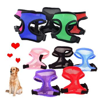 Adjustable Breathable Leash Harness For Cats and Dogs