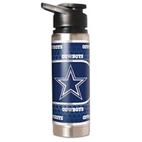 NFL Dallas Cowboys  20oz Double Wall Stainless Steel Water Bottle