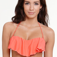 O'Neill Solid Ruffle Top at PacSun.com