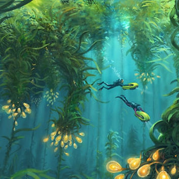 'Exploring the Kelp Forest' Poster by UnknownWorlds