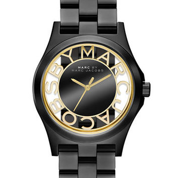 Marc By Marc Jacobs Ladies Henry Two-Tone Skeleton Watch