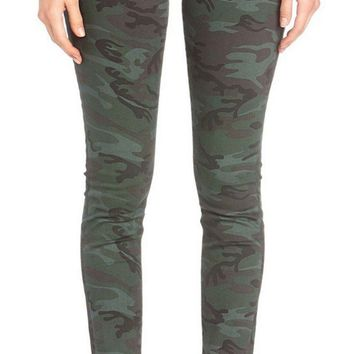 Miss Me High-Rise Camo Skinny Jeans