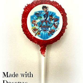 PAW PATROL White Chocolate Covered Oreo Cookie Pops