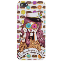 I Donut Give A Fuck iPhone 5C Case