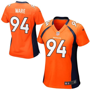 DeMarcus Ware Denver Broncos Nike Women's Game Jersey – Orange