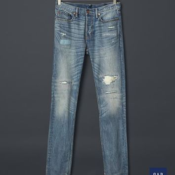 Gap Men + GQ NSF Ripped & Repaired Jean