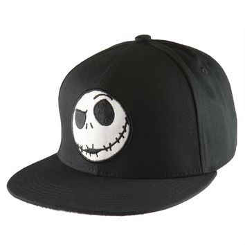 Nightmare Before Christmas - Jack Head Snapback Cap