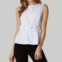 Skip The Line Sleeveless Top
