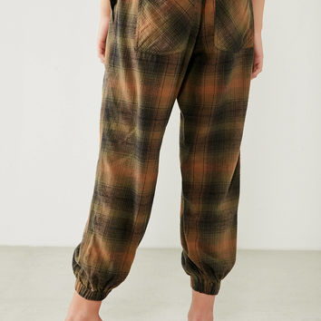 BDG Steph Plaid Jogger Pant | Urban Outfitters